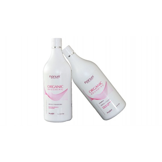 Kit Organic Brushing - Shampoo Absolut Clean e Absolut Control